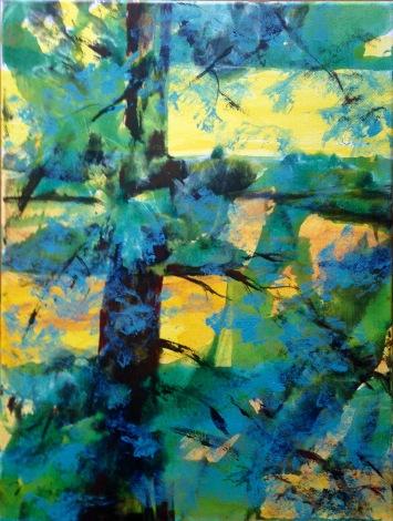 Nora Tryon, Isleboro Light, acrylic on canvas